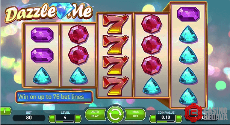 dazzle me netent slot oyunu