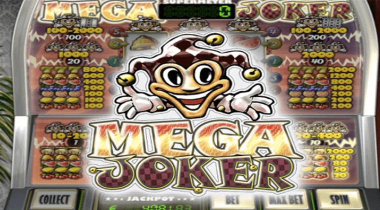 mega joker netent slot oyunu