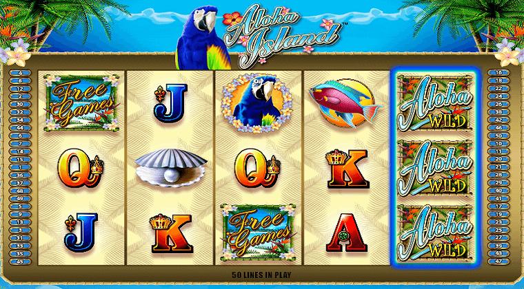 aloha island bally slot oyunu