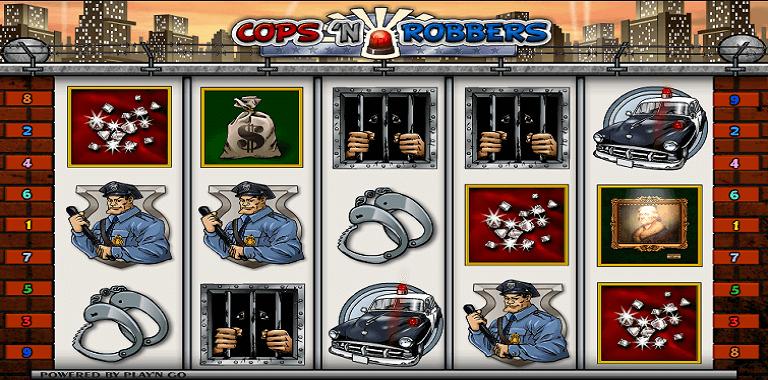 cops n robbers playn go slot oyunu