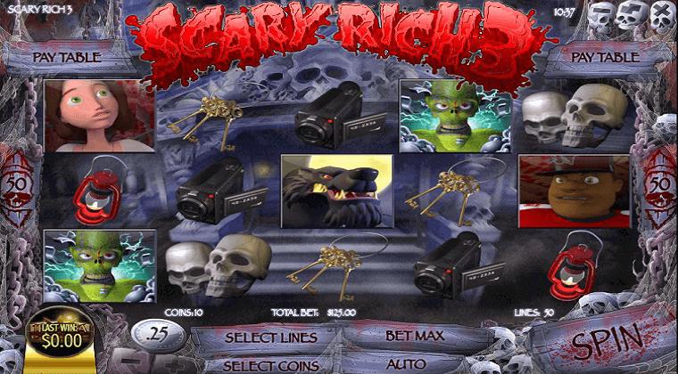 scary rich 3 rival slot oyunu