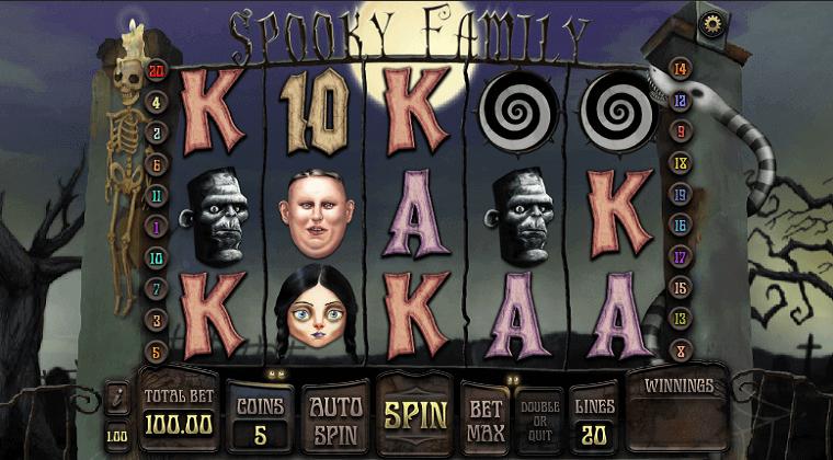 spooky family isoftbet slot oyunu